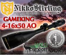 Nikko Stirling - Rifle Scope - Game King - 4-16x50AO - Half Mil Dot Reticle