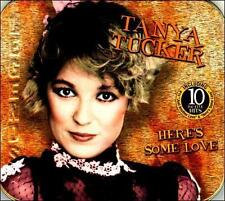 Here's Some Love by Tanya Tucker Music Tin CD 10 Hits LEGENDS