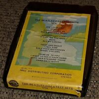 THE BEATLES 8 Track tape cart. MVC Distributing Greatest Hits VOLUME 1 bootleg?
