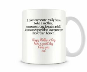 It Takes Someone Really Brave To Be A Mother Mum53 Mothers Day - Printed Mug