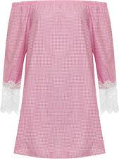 Maglie e camicie da donna rosa in cotone taglia 46