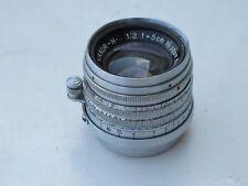 "Ultra RARE Nikon LTM 5cm f:2 Nippon Kogaku Tokyo lens No.50080xxx NICE ""LQQK"""