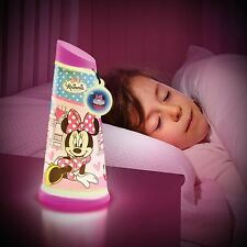 Minnie Mouse Go Glow veilleuse inclinaison Lampe de poche NEUF