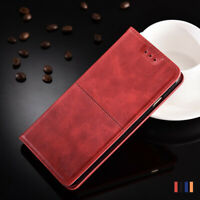 For Xiaomi Mi A3 A2 Lite A1 Magnetic Leather Wallet Case Business Flip Cover