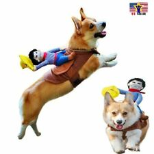 Riding Horse  Run Cowboy Pet Dog Cat Costume Puppy Halloween Puppy Dress Cosplay