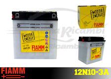 12N10-3A BATTERIA MOTO FIAMM MOTOR ENERGY YUASA YB10L-A2 10 Ah 100A + LIQUIDO