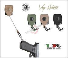 Porta Accessori Correggiolo Retrattile Pistola DYNEMA Vega  8V33 8V32 8V31 NERO