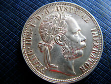 !!! 1 Gulden 1881 - Silbermünze Franz Joseph I 1848 - 1916 - Erhaltung !!!