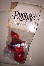 Chris Ryniak Bugbite Red Clear Glitter Mini Art Figure DCON 2015 Exclusive RARE