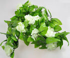 1 Bouquet 15 Heads Artifical Rose Hydrangea Wedding Home Party Decor Silk Flower