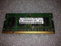 Memoria SoDimm DDR2 Samsung M470T6554EZ3-CE6 512MB PC2-5300 667 CL5 200 pin