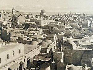 PALESTINE JERUSALEM GENERAL VIEW POSTCARD