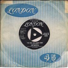 "Jane Morgan The Day The Rains Came Tri-centre UK 45 7"" single"