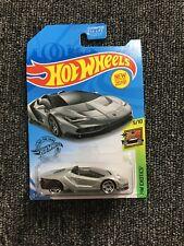 ° Hot Wheels c4982-fyb38 Lamborghini centenario gris-us long card 1:64 nuevo