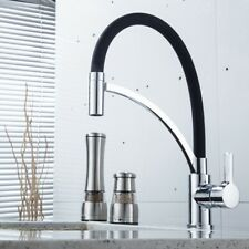 Kitchen Faucet 360 Degree Rotatable Sink Tap Mixer Single Lever Spiral Springs