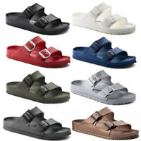 Hot Mens Womens Unisex Birkenstock Arizona EVA Double Strap Sandals Slides Shoes