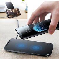 Qi Wireless Kabellos Charging Ladegerät Pad Handy für iPhone X 10 8 Plus Note 8