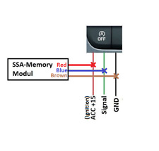 NEW! Start Stop Memory module with SERVICE MODE! / Start-Stop SSA memory