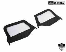soft top Upper Door Skins Black Diamond right & left 97-06 FOR Jeep Wrangler