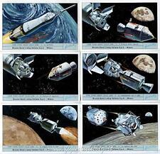 Chromo Liebig Sang. 1867 ITA Come siamo andati sulla Luna I Brooke Bond ANN 1975