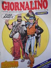 Giornalino 12 1985 I Promessi Sposi di Piffarerio I Puffi Pinky + inse [C20]