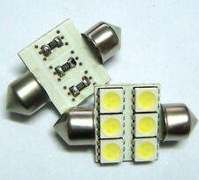 10pcs 33mm 6-5050 SMD LED Festoon Dome Bulb White DC12V NEW *bargain price *