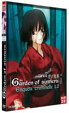 "COF DVD + CD NF ""THE GARDEN OF SINNERS - FILM 2 : ENQUETE CRIMINELLES 1.0"" manga"