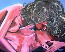 BEACH Kiss Fantasy Original Art PAINTING DAN BYL Modern Contemporary huge 4x5ft
