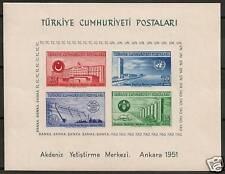 Turkey 1951 MI Bloc 4  MNH  VF