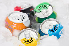 Cover for soda beverage cans - 5 pack - HYGIENIC & PROTECTIVE SODA CAN LIDS