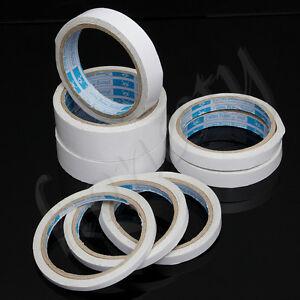 1pc rouleau 10M ruban adhésif Double face fixation Tape fort adhésif largeur