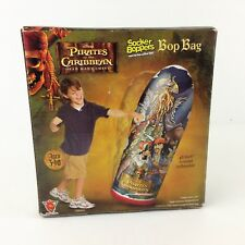 New listing Disney Pirates of the Caribbean Davy Jones Inflatable 3D Bop Wrestle Fight Bag