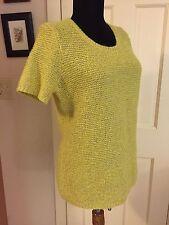 The Gap Bohemian Pretty Pearl Knit Sweater Classic Top Sz Medium