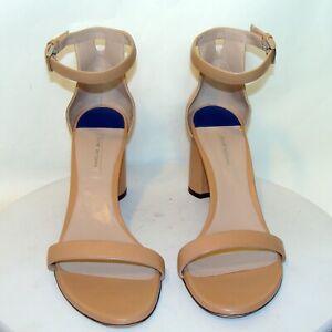 Vintage Stuart Weitzman New York Women/'s US 8 12  ITEM-BOI5 White Leather Sandals