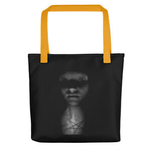 """A Tote bag """"Darkness Witchy Woman"""" by Connie's Creepy Corner"""
