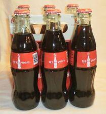 125 Years Collectible Coke Bottles