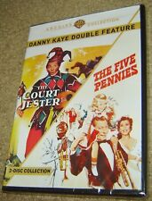 Danny Kaye Double Feature: The Court Jester/The Five Pennies (DVD, 2-Disc, NEW!
