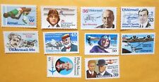 US, C97//C119 Air mail Collection 10 stamps, MNH