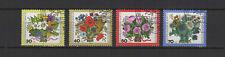 1974 Allemagne Berlin oeuvres de bienfaisance 4 timbres oblitérés/T2232