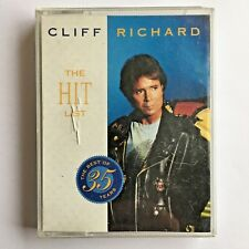 CLIFF RICHARD - THE HIT LIST : THE BEST OF 35 YEARS - DOUBLE CASSETTE