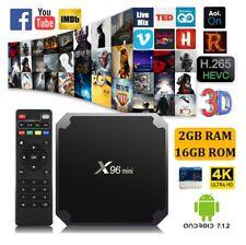 X96 MINI 4K Amlogic S905W 2GB 16GB Android 7.1 Quad Core WIFI 3D Smart TV BOX