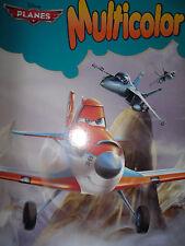 Disney  Planes * Malbuch * 32 Motive * DIN A4 *Multicolor * Neu