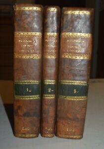 REGNO DI NAPOLI - ediz. 1819 - DIRITTO CIVILE - 3 volumi in 4°
