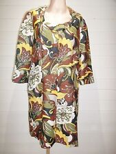 H&M 60's Style Top/Tunic ~ Size M (UK12) ~ Multi colours with sparkle ~ A326