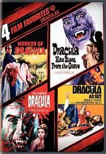 DRACULA 4 Films Christopher Lee*Peter Cushing Gothic Hammer Horror R1 DVD *NEW*