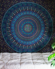 Indian Tapestry Wall Hanging Mandala Hippie Bedspread Throw Bohemian Cover Twin