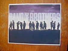 Wwii Band Of Brothers Tv Show Poster 8 1/2 x 11 Photo signed Clay Friell