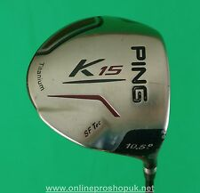 Ping K15 10.5 degree Driver. X Stiff graphite shaft !! FREE P&P! PGA Pro seller