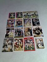 *****Vaughan Johnson*****  Lot of 125+ cards.....42 DIFFERENT / Football