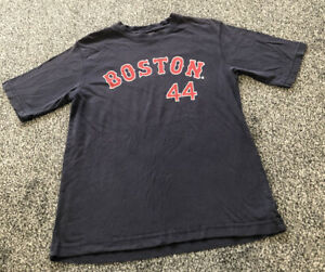 Official Boston Red Sox Women's Blue MLB Baseball T Shirt Top - Ladies Size 8/10